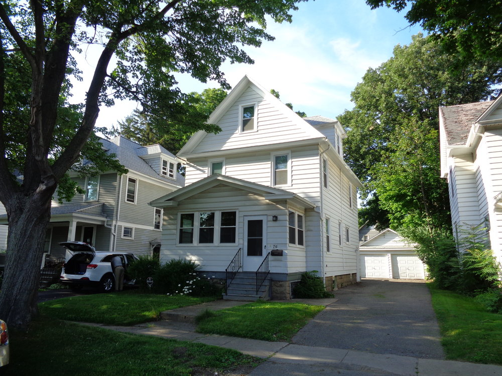 4 bedrooms, an office, 2 and half bathrooms, custom kitchen. very close to the university of rochester. less than half a mile a way.