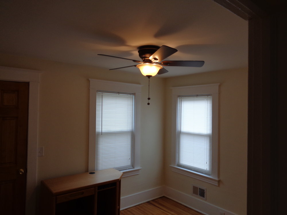 New Windows New Lighting in This Congress St. Rochester NY Student Home For Rent