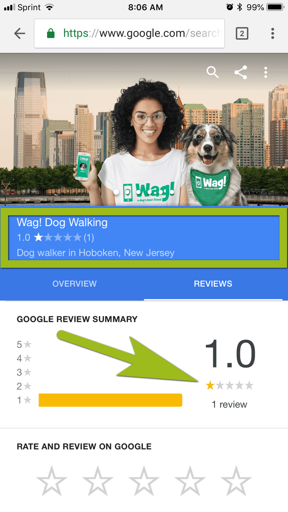 Wag! App Hoboken Dog Walking Review 1.png