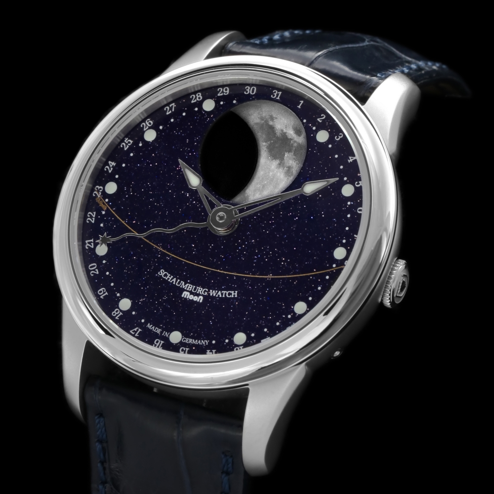 Schaumburg Watch Perpetual MooN Galaxy