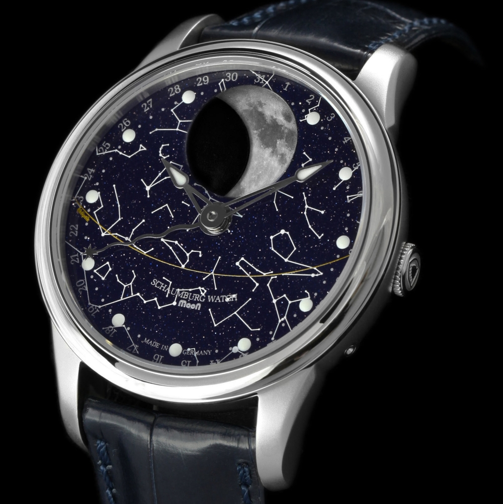 Schaumburg watch Perpetual MooN Galaxy Zodiac