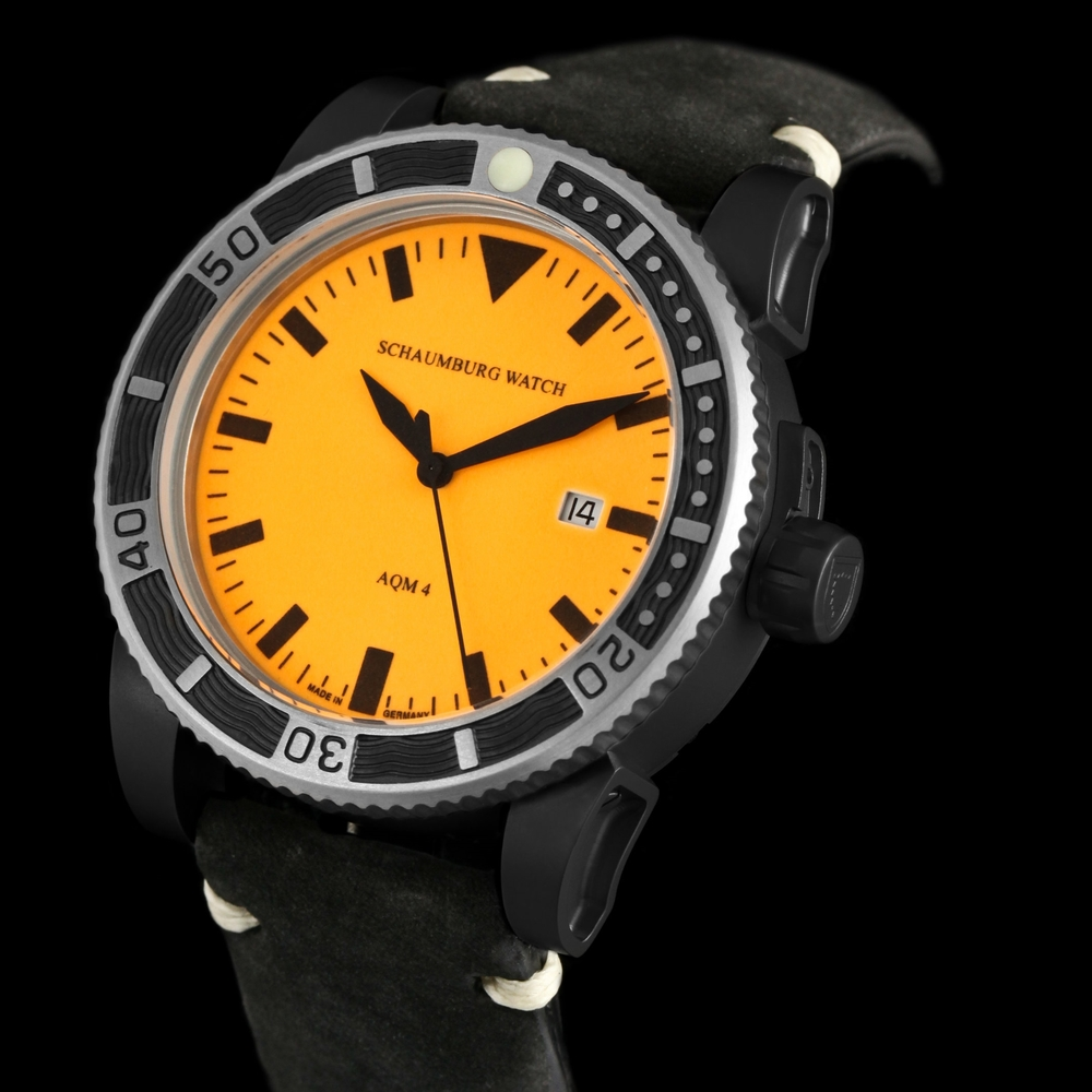 Schaumburg Watch AQM 4 Orange PVD
