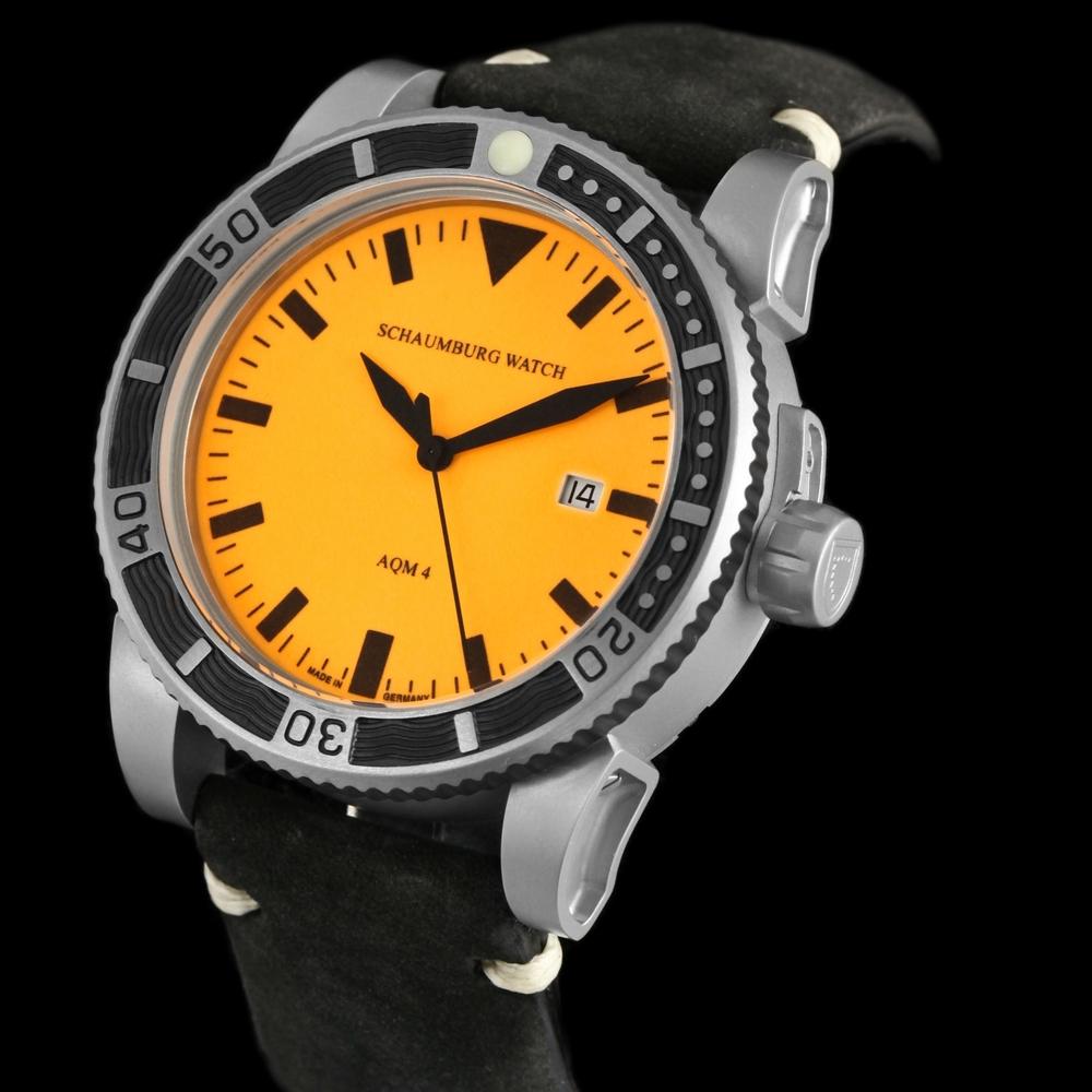 Schaumburg Watch AQM 4 Orange