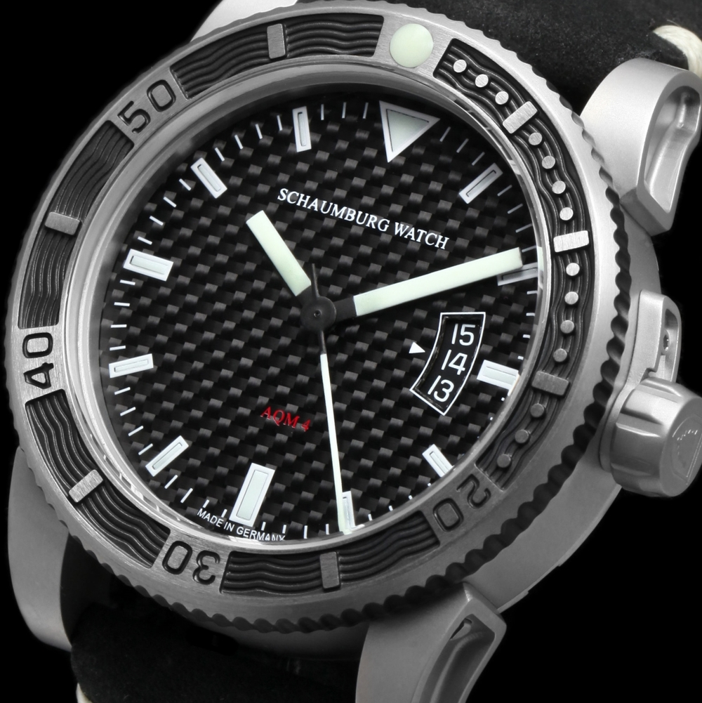 Schaumburg Watch AQM 4 Carbon
