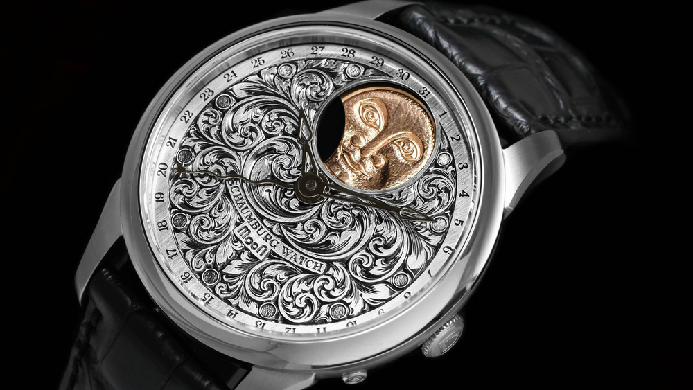 Schaumburg Watch Perpetual MooN Handmade