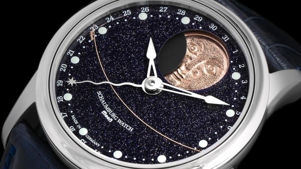 Schaumburg Watch Perpetual MooN Galaxy Handmade
