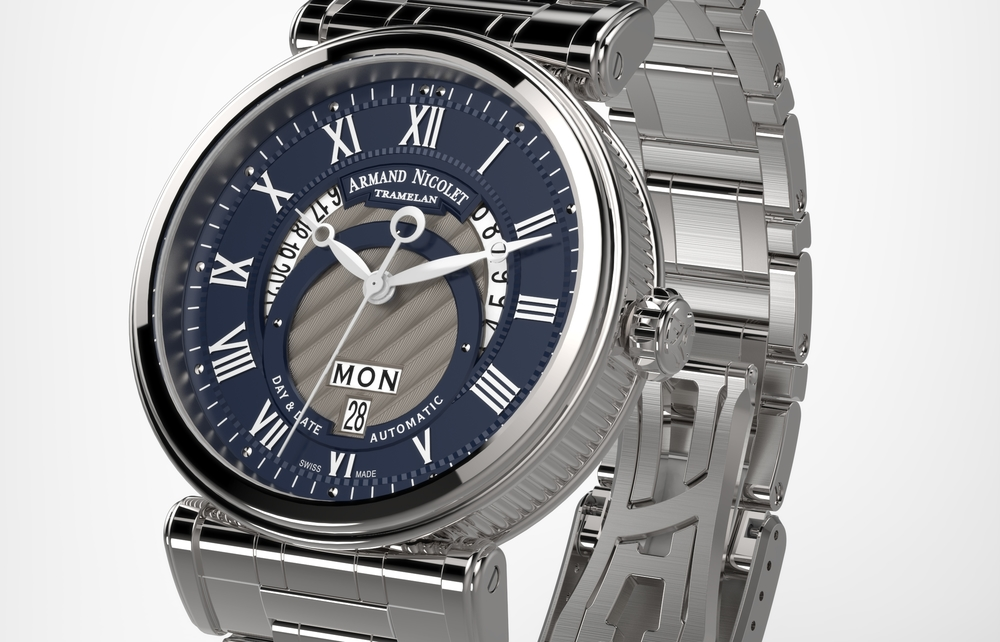 Armand Nicolet Arc Royal Day Date A420AAA-BU-MA2420