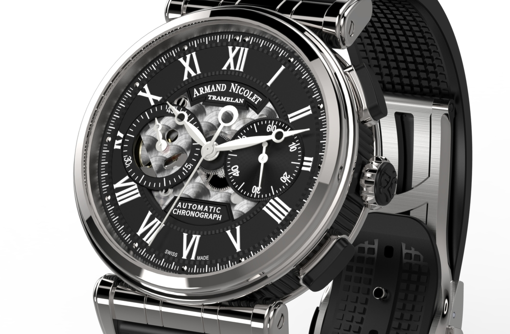 Armand Nicolet Arc Royal Chronograph A424ANA-NR-G9660