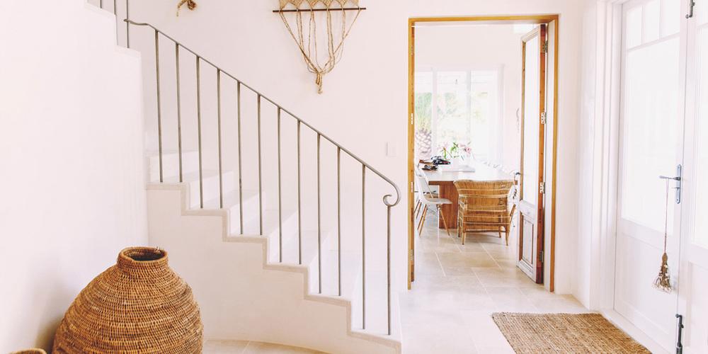 Internal staircase wrought iron