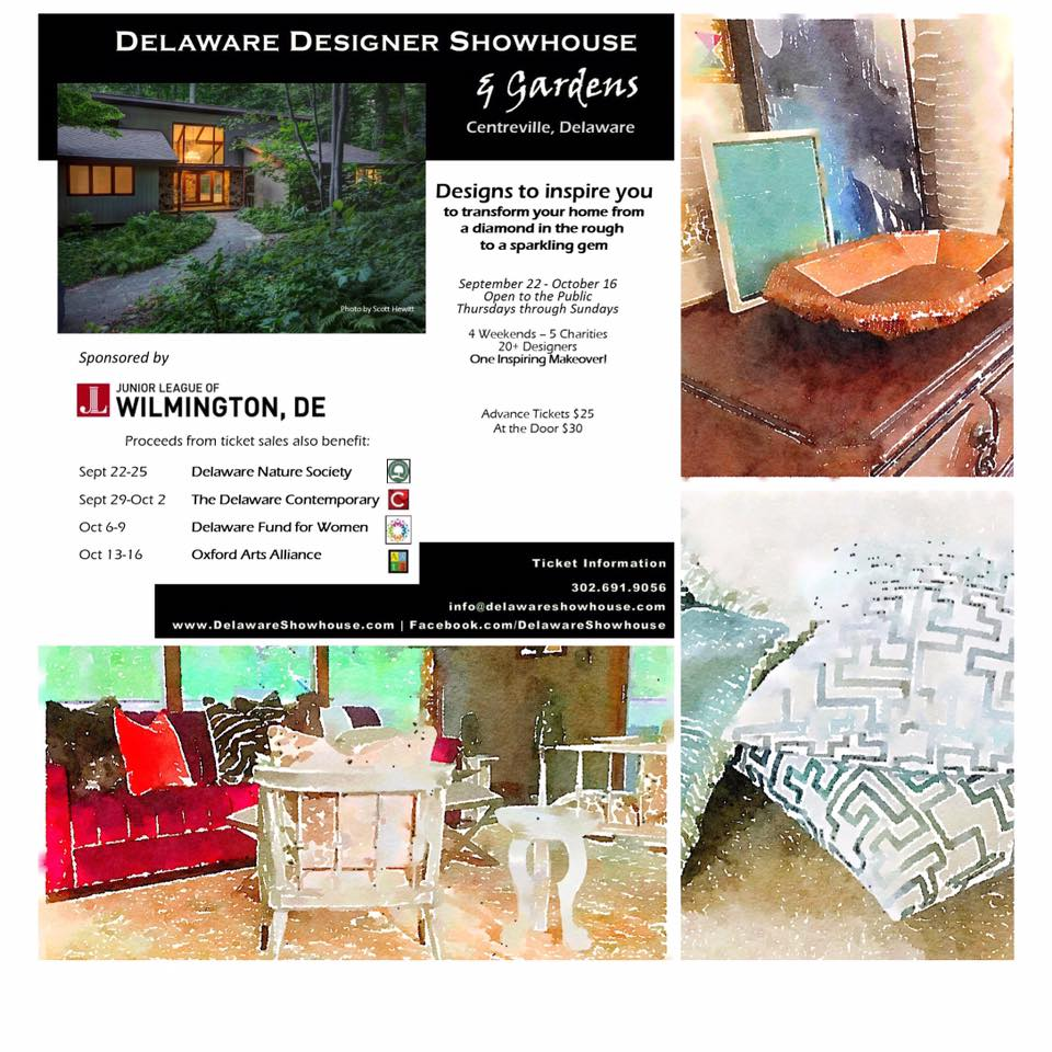 Delaware Designer Showhouse Gardens Featuring Nile Johnson and