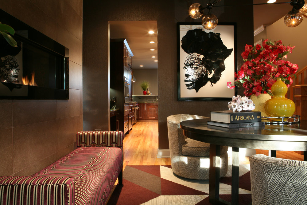Black interior designers network for American house interior design
