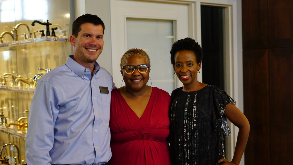 Kimberly Ward and Black Interior Designers Network Event