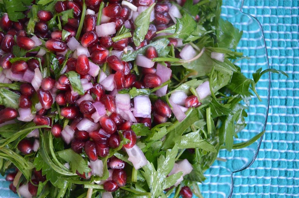 Thyme Salad: Zahter Salatası — Anatolian Kitchen
