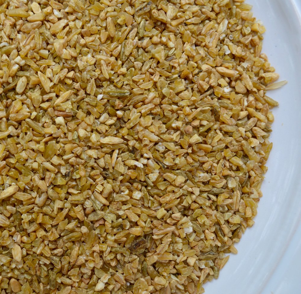 Freekeh before it has been cooked.