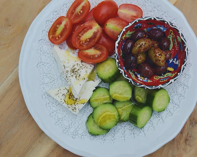 Turkish breakfast: the best way to get me to eat vegetables in the morning