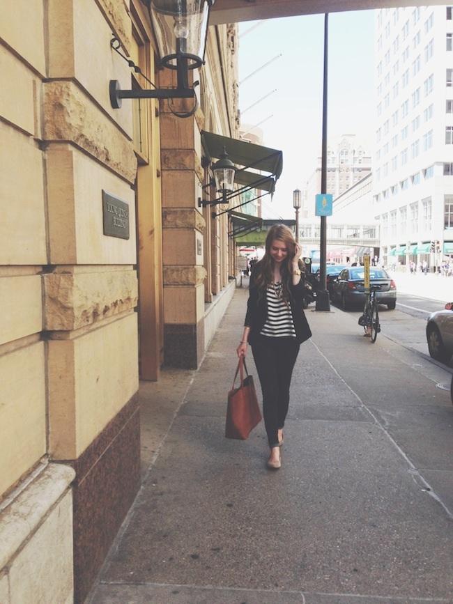 chelsea_lane_zipped_minneapolis_fashion_blogger_H&M_stripes_blazer_gap_denim_leggings_mia_abie_flats_madewell_transport.jpg