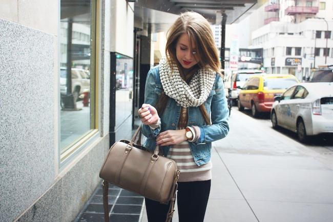 minneapolis_fashion_blog_blogger_madewell_heart_sweater_abercrombie_denim_jacket_jcrew_pixie_pants_black_velvet_loafers_urban_outfitters_francesca's_gap_cowl_scarf_red_lipstick_revlon4.jpg
