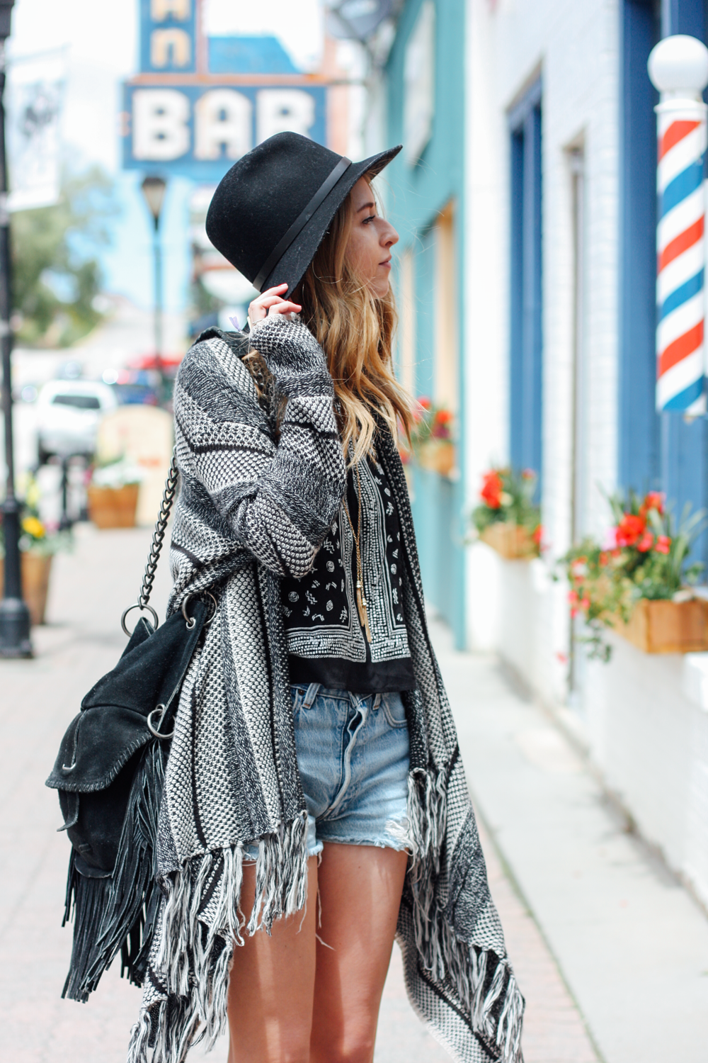 Rag + Bone hat, Cut 'n' Paste handbag and Levis in Leadville, Colorado via truelane.png