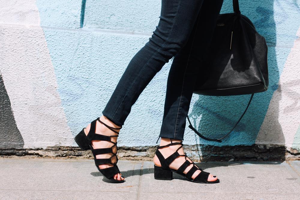 The Block Heel | truelane