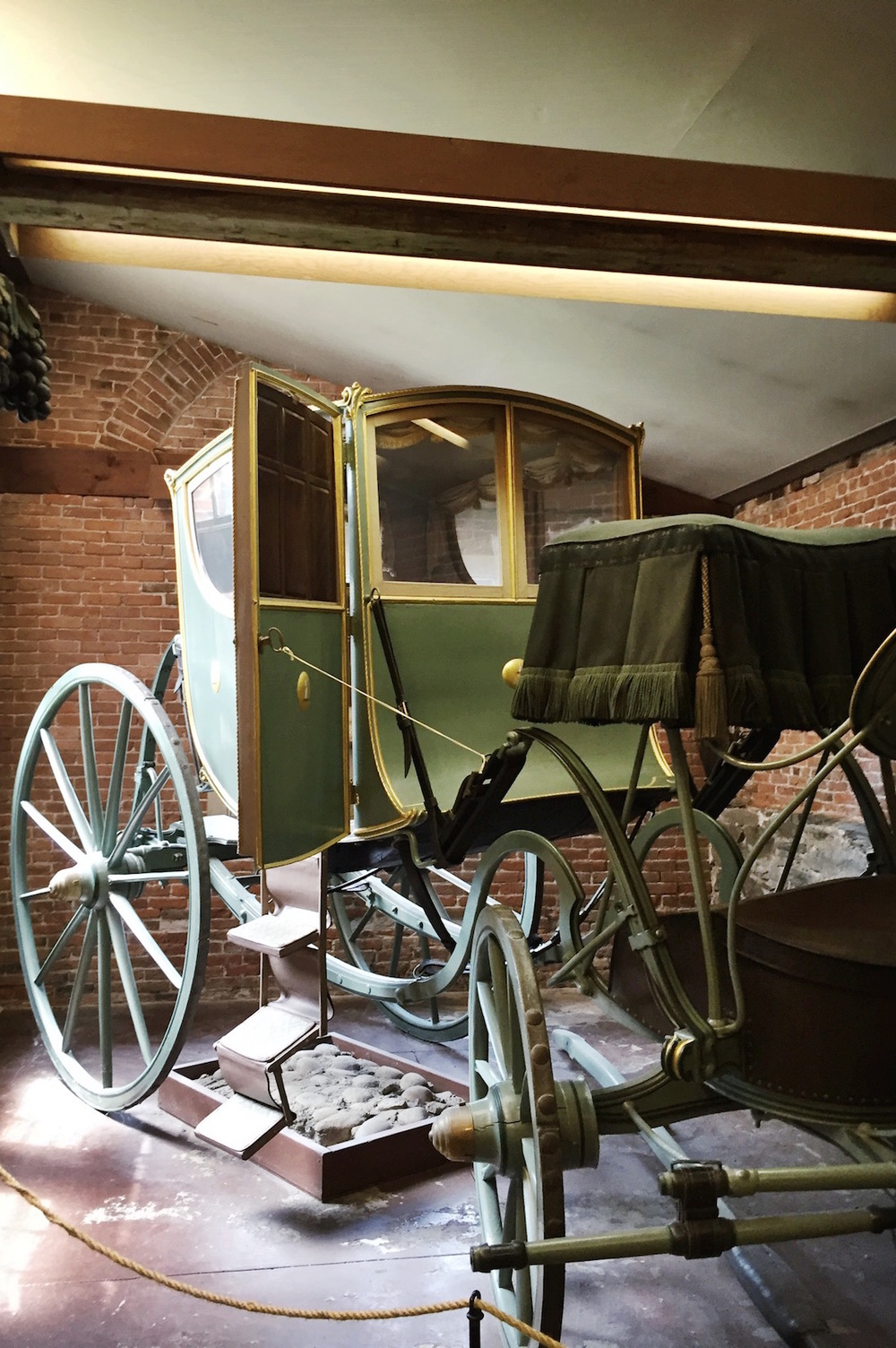 John Brown House Museum carriage