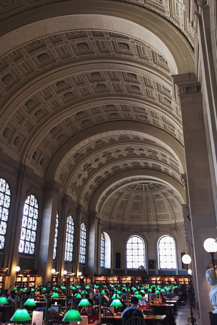 Bates Hall, Boston Public Library | truelane