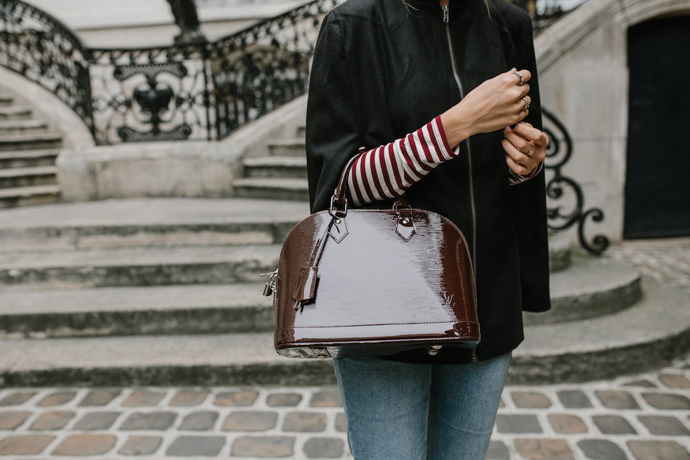 Burgundy Stripes | truelane