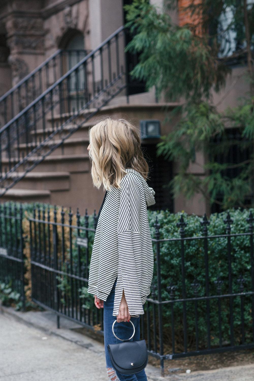 Striped Hoodie | truelane