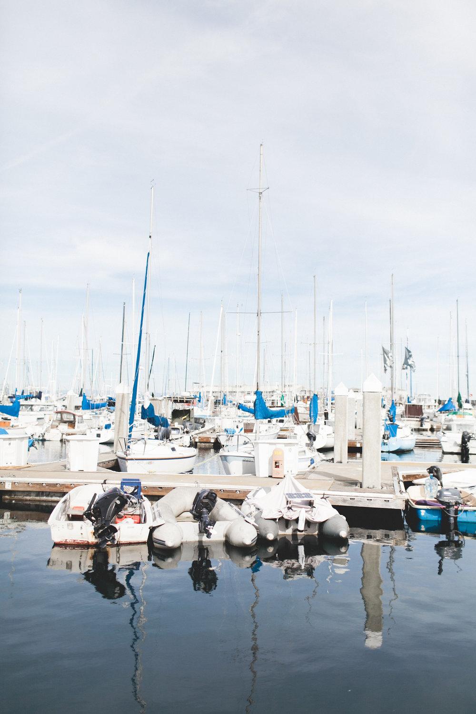 Summer Weather on the Wharf | truelane