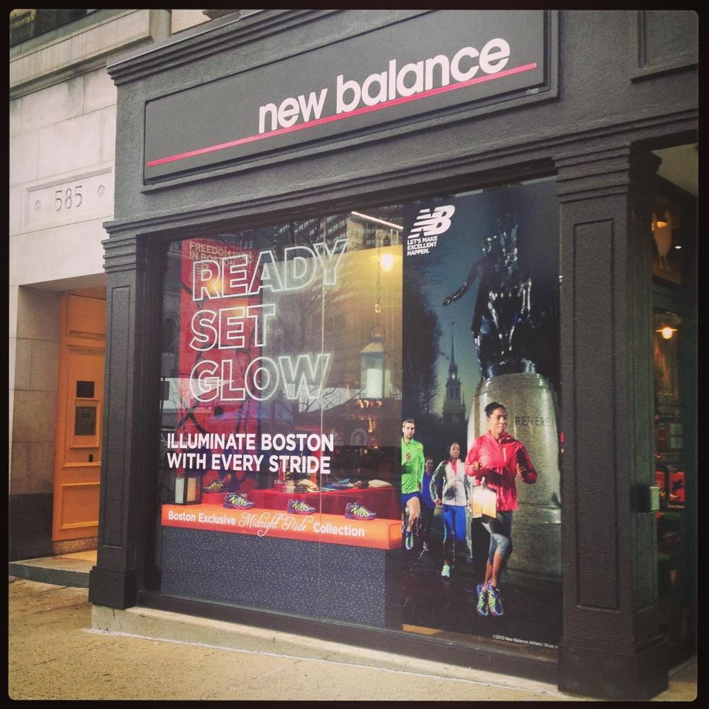 new balance showroom