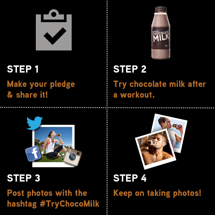 #TryChocoMilk how-to 2