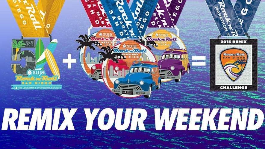 5k + Marathon = REMIX ... BABY!