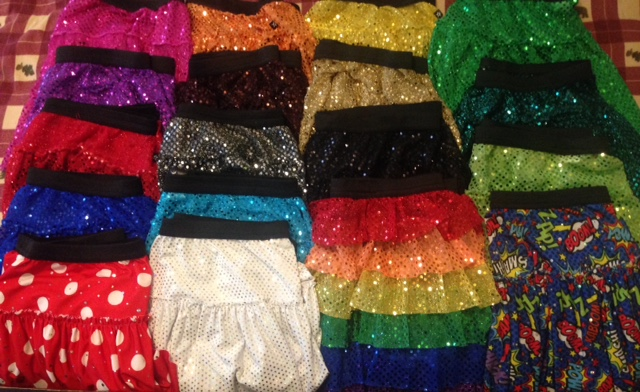 18 Sparkle Athletic skirts and counting...