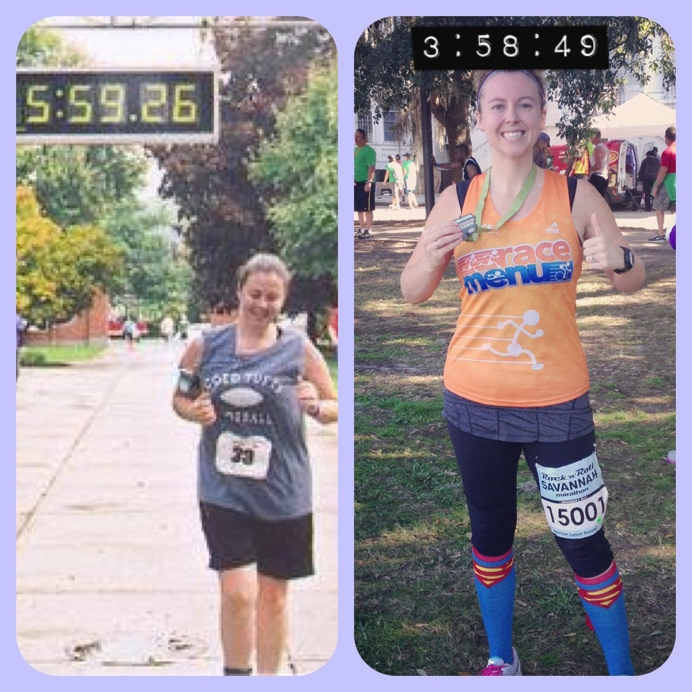 Marathon 1 (Sept 2006) vs Marathon 2 (Nov 2012)