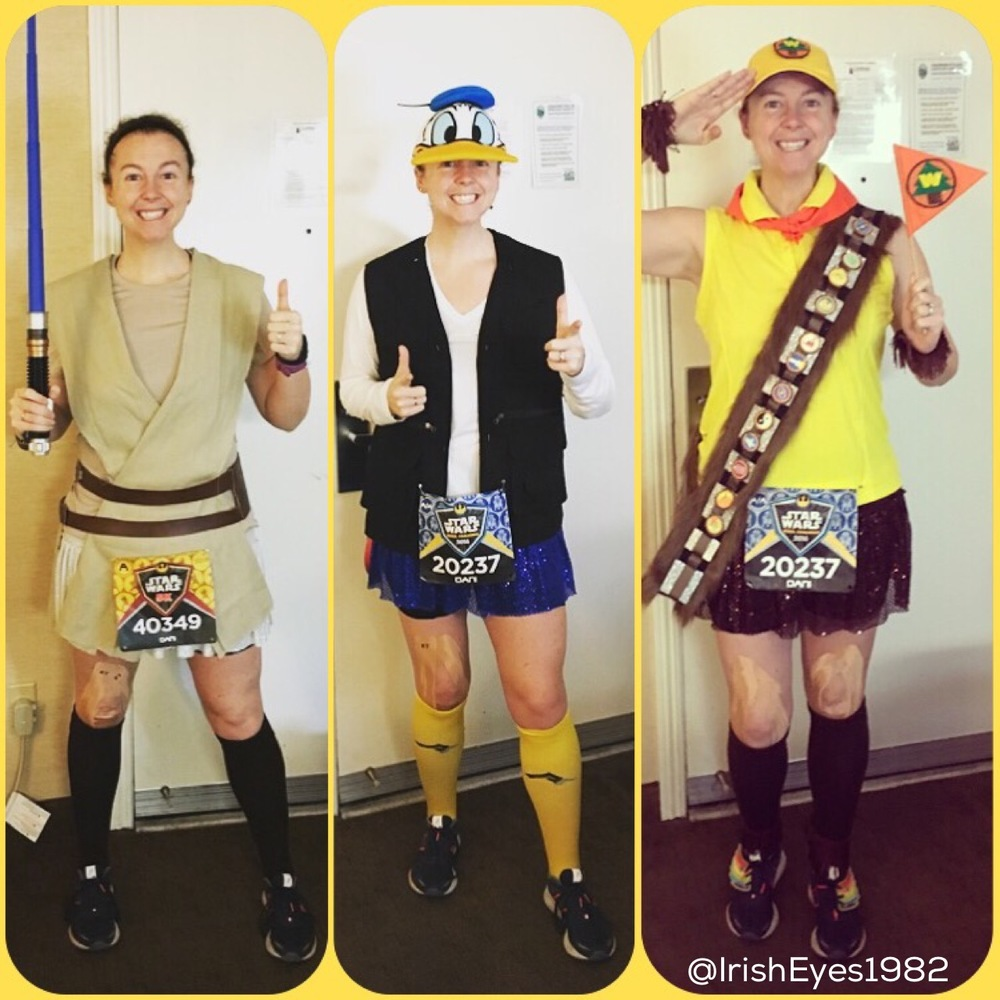 2016 Star Wars (Light Side) race costumes