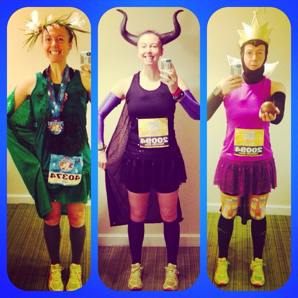 2015 5k + Glass Slipper Challenge costumes