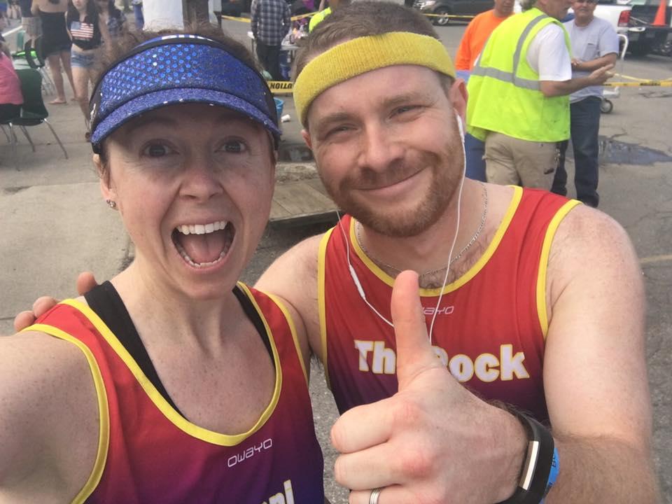 Nate and I during 2017 Boston Marathon