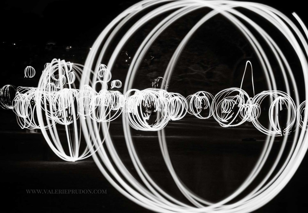 light painting photography