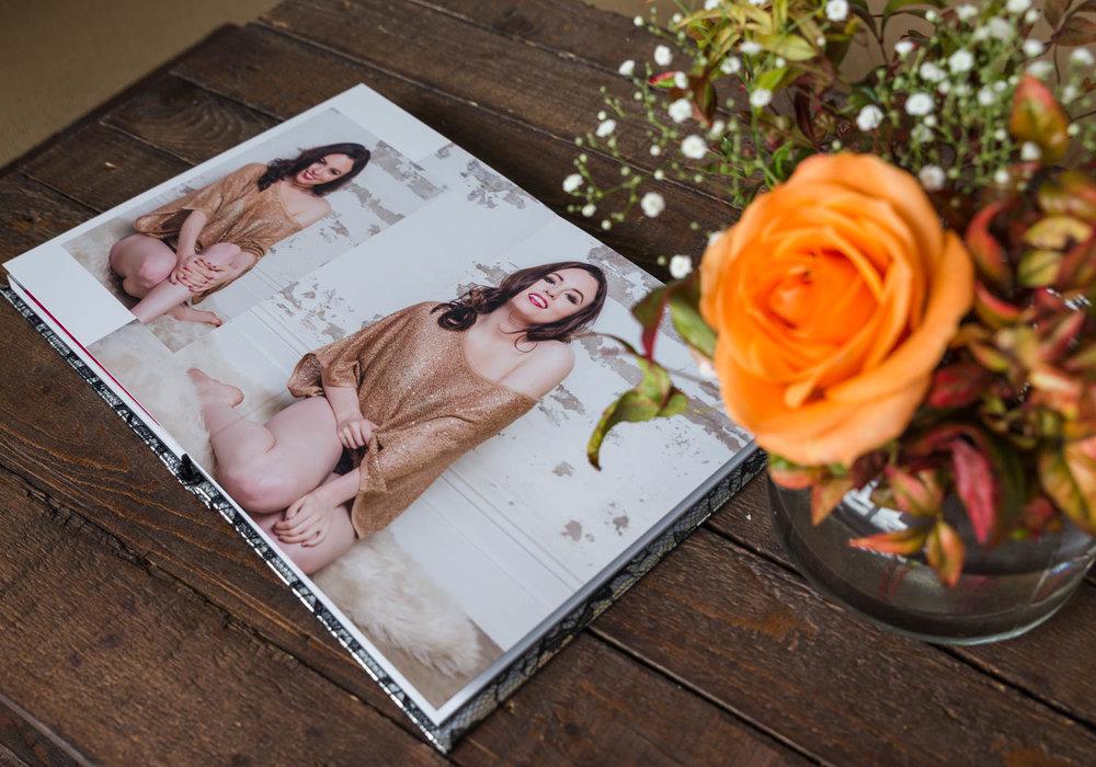 boudoir album valerie prudon photography sydney