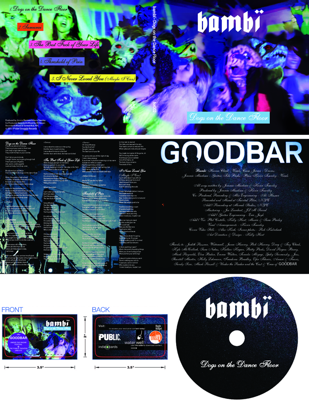 Bambï - Goodbar Media Package