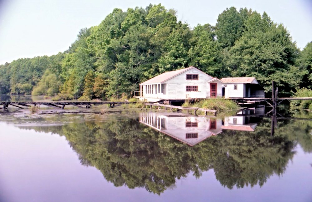 Boat House on Lake Drummond