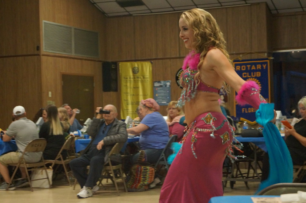 We attended the Brooksville Greekfest, the food wasn't that great, but there was a belly dancer!