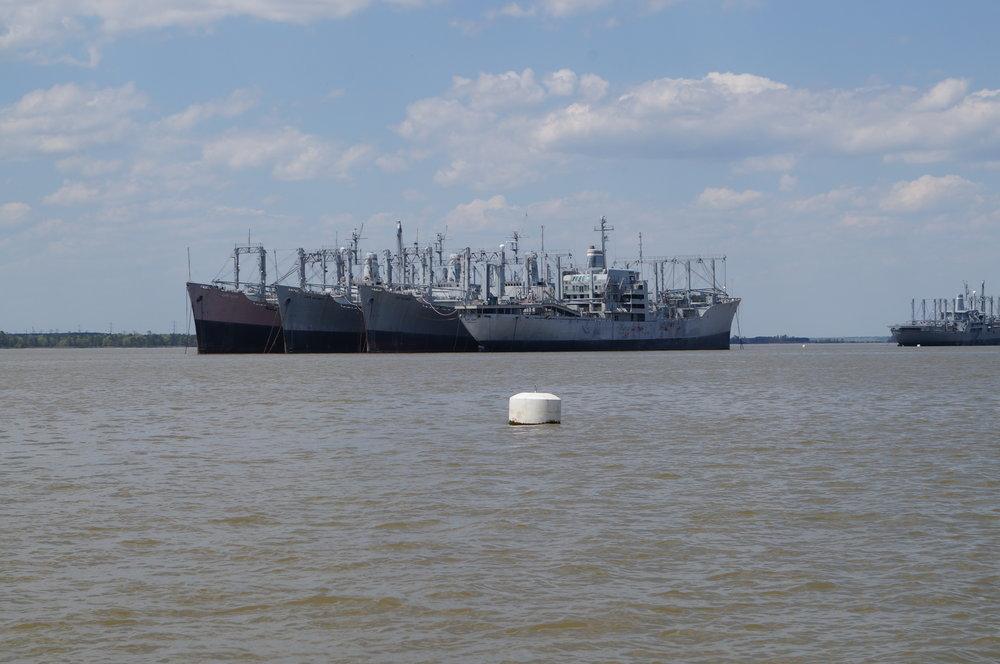Ghost Fleet on the James