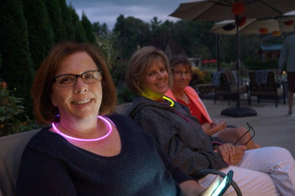 Tammy, Carol, and Pam