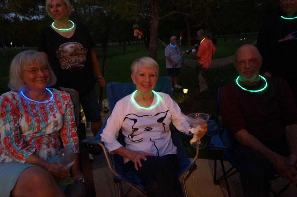 Diane, Sandra and Bob