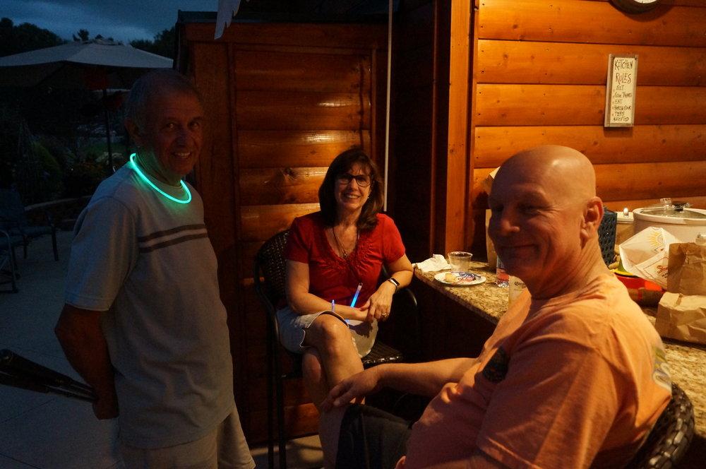 Gary, Chris and Tom