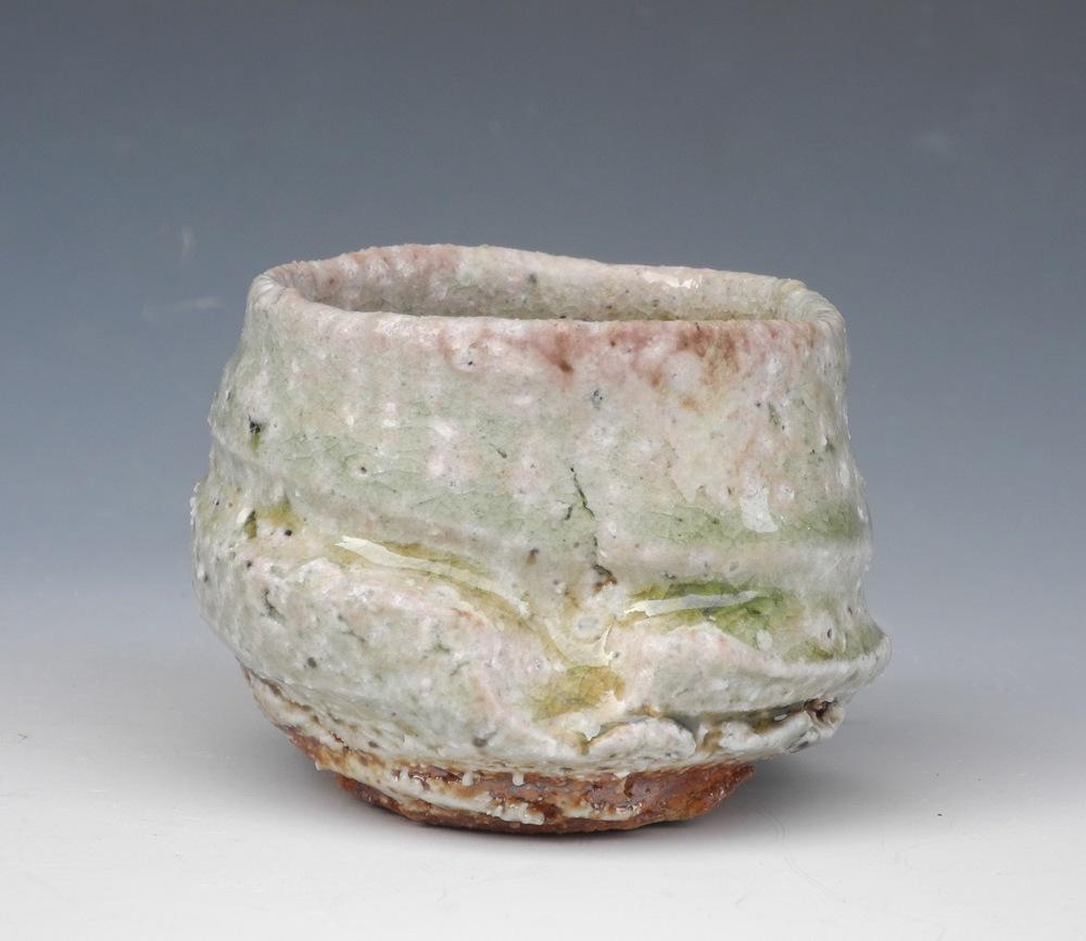 Natural ash guinomi (sake cup)