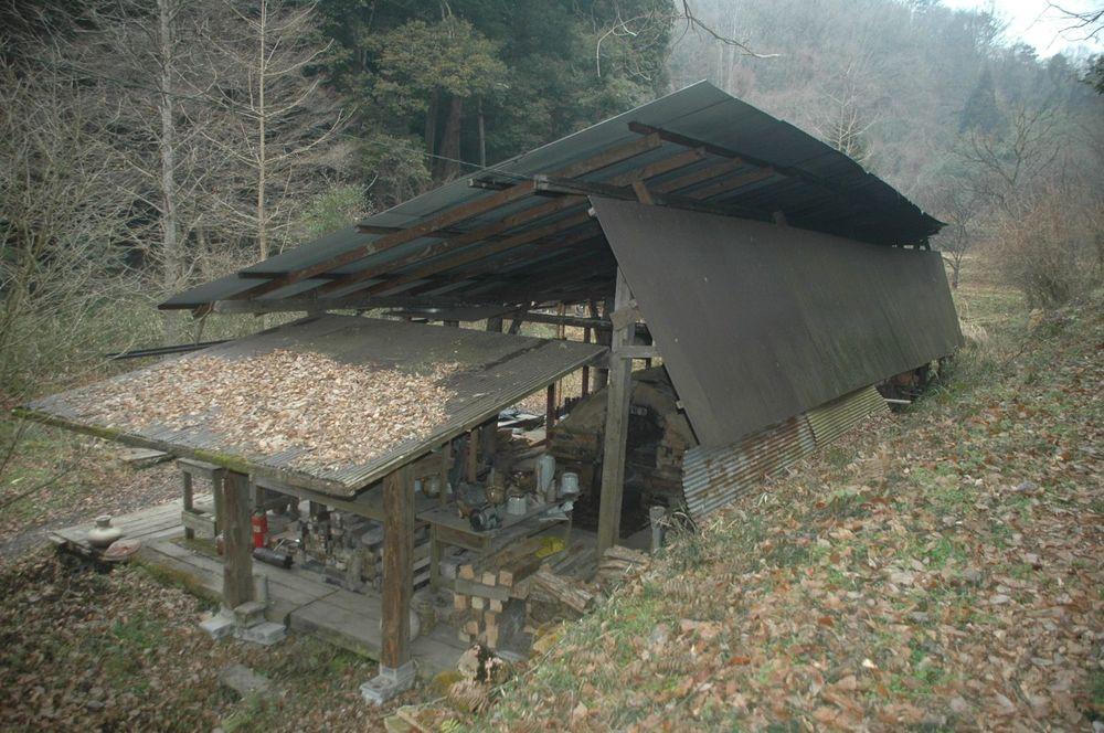 Kiln shed