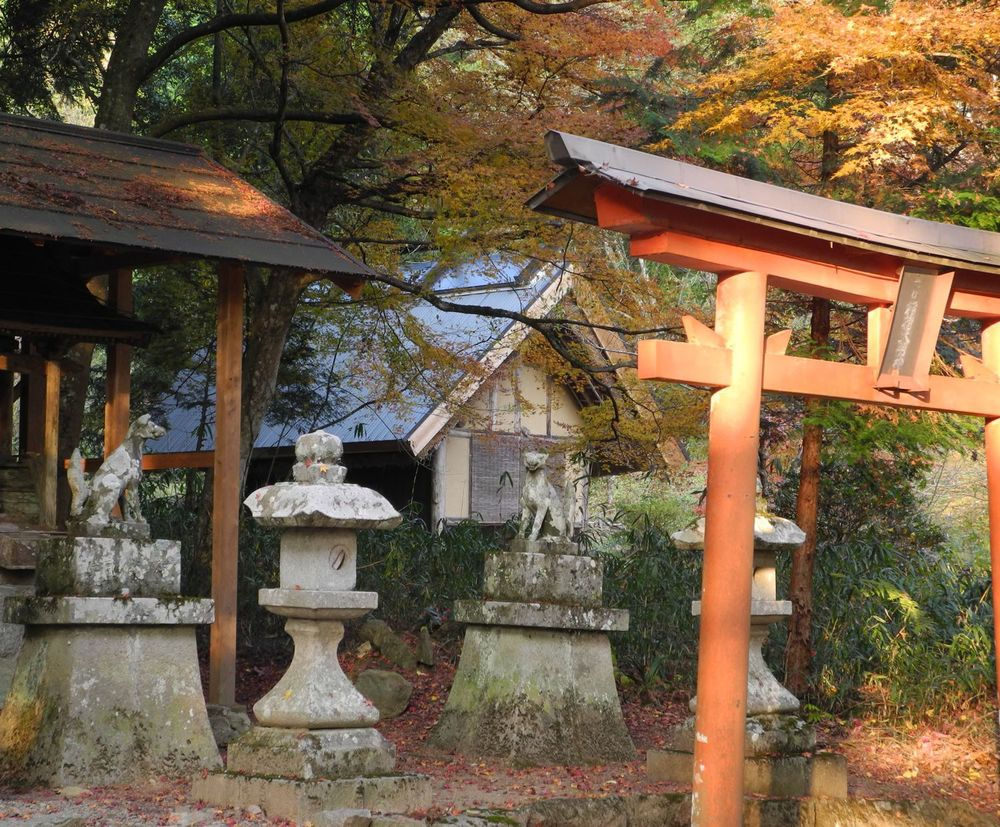 Teahouse from shrine