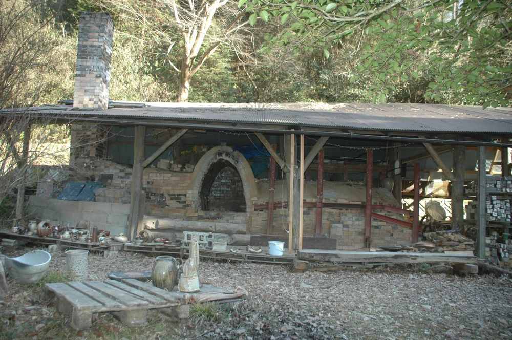 Old kiln with 2nd chamber
