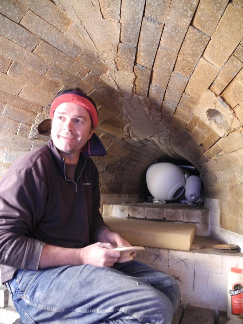 John Bradford, kiln designer/builder/potter